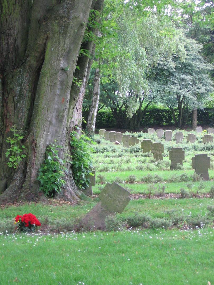 Soldatenfriedhof in Monchengladbach-Hardt