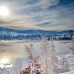 Soleil d'hiver...
