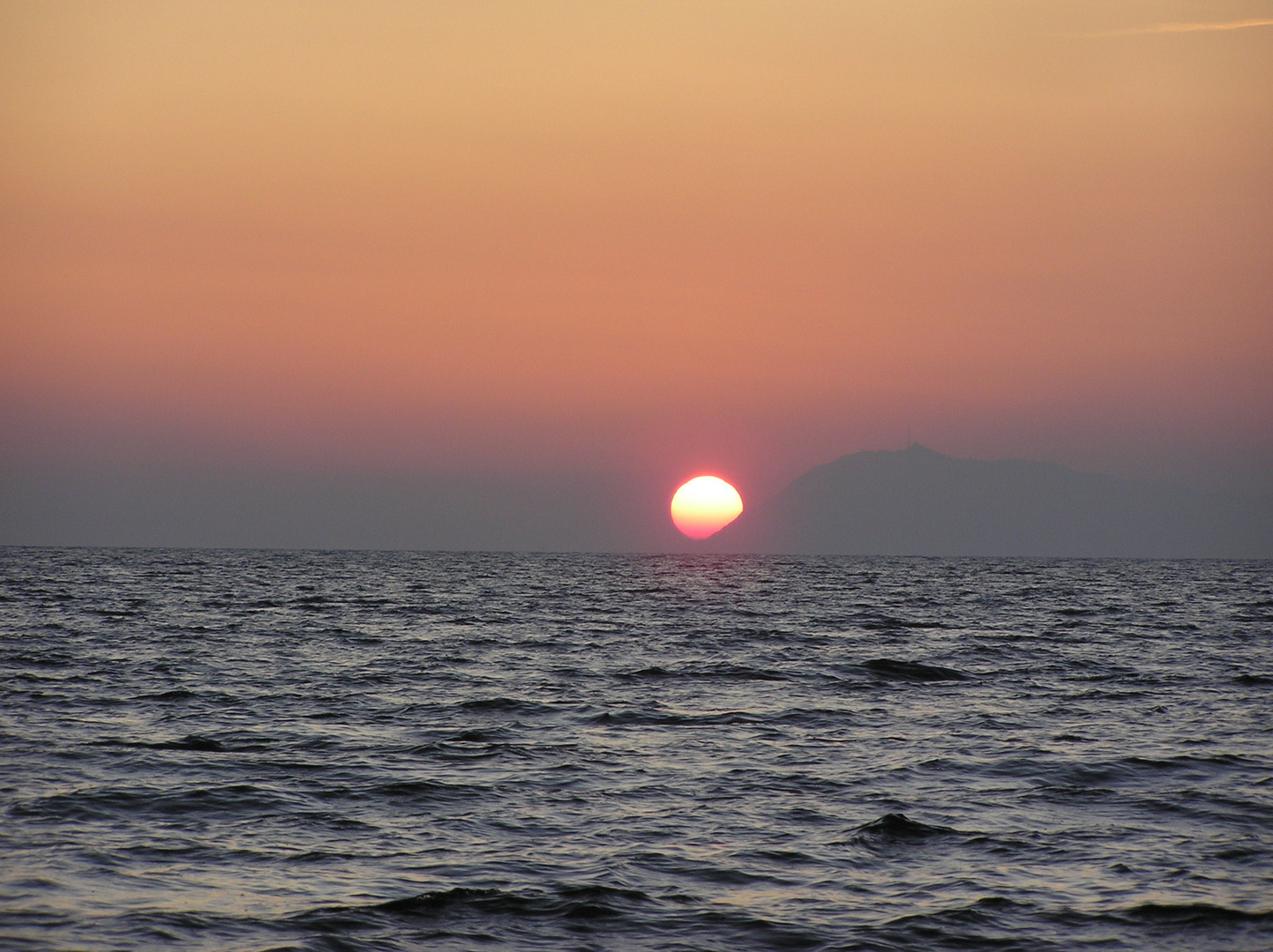 soleil qui va se coucher...........