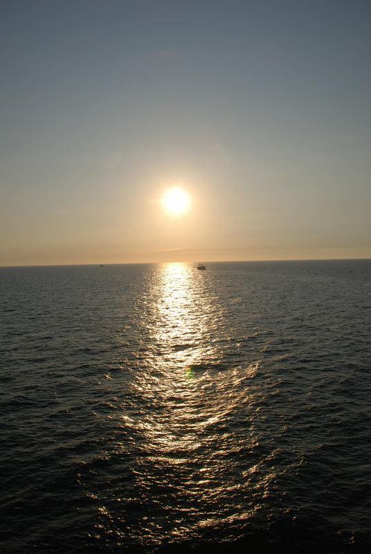 Soleil se couche sur une journée bien remplie !