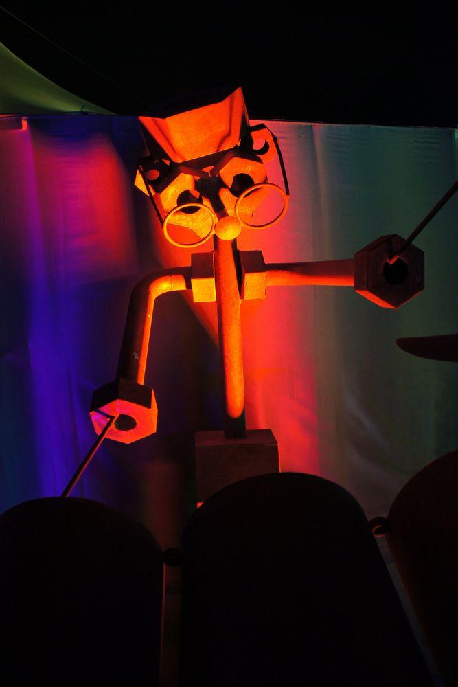 Solist 3 Am Schlagzeug