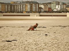 Solo en la playa