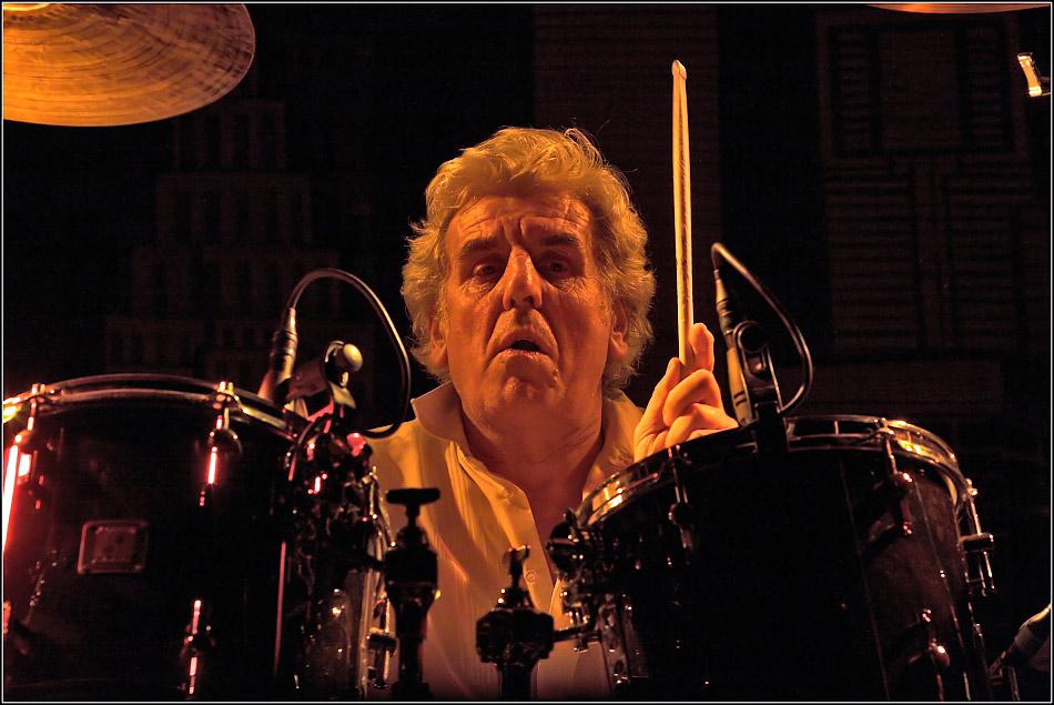 Solo für Drums...
