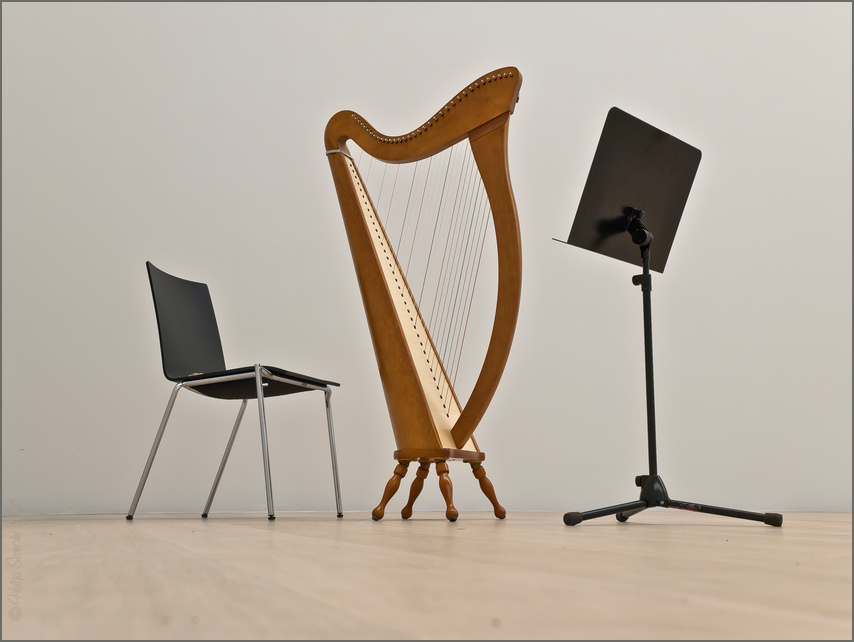 Solo für Harfe