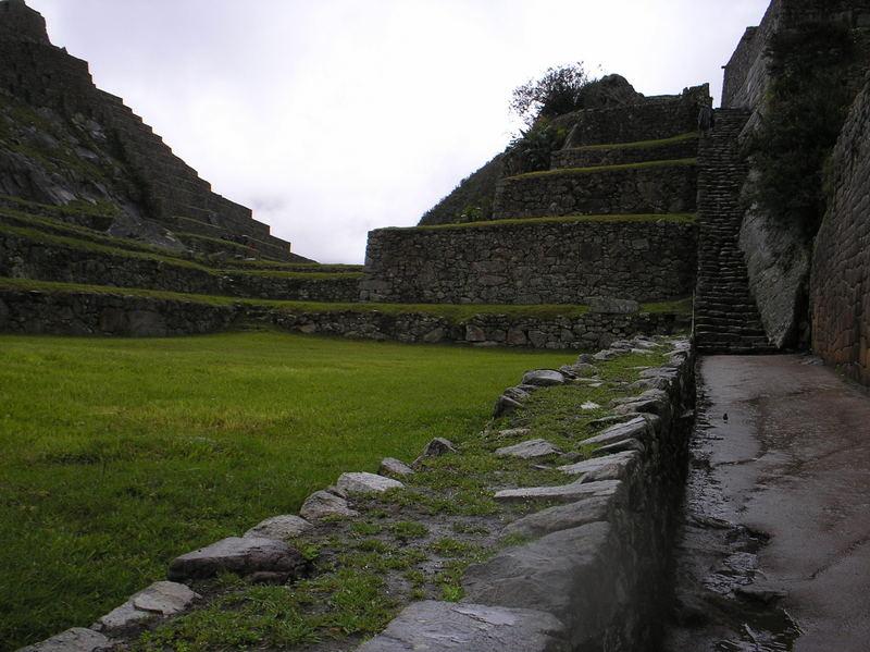 Solos en el Machu Picchu