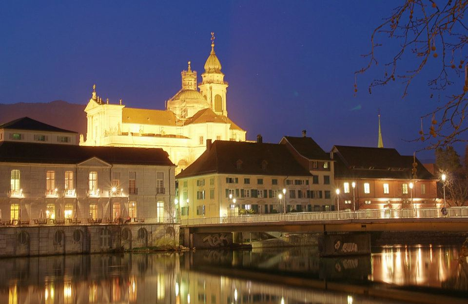 Solothurn, bei Nacht
