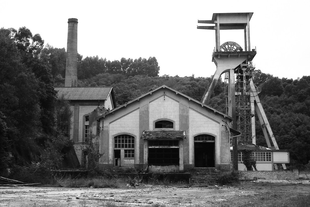 Solvay colliery; Asturias - Northern Spain