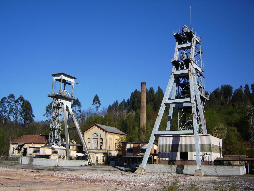 Solvay colliery; Asturias - Northern Spain.