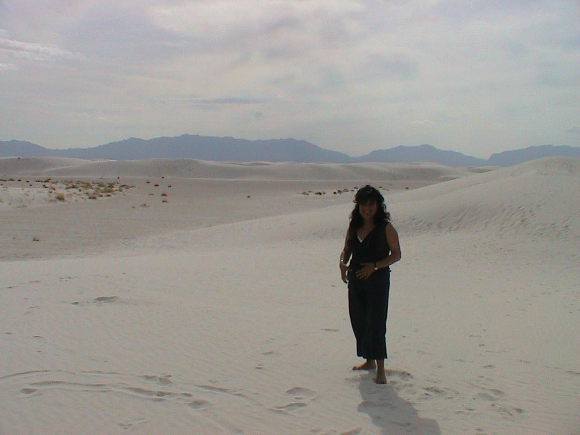 """""""sombra en el desierto de las arenas blancas"""" (white sands)"""