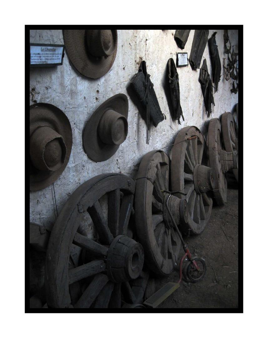 Sombreros y ruedas