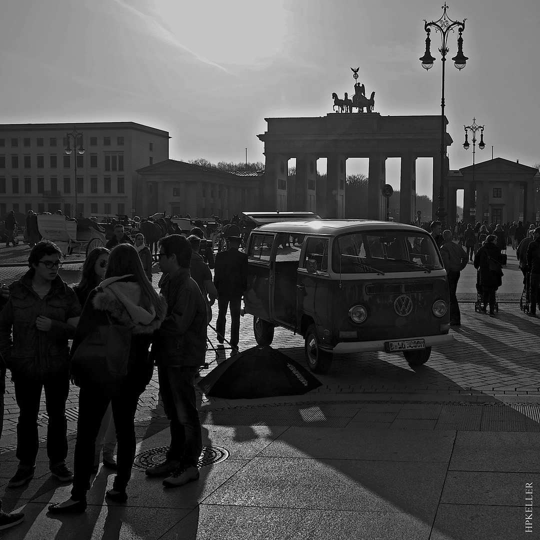 "Some month ago in Berlin, ...in front of the ""Brandenburger Tor""."