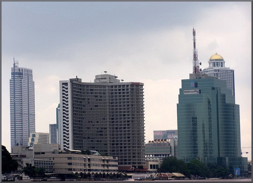 Some of Bangkok´s Skyscrapers