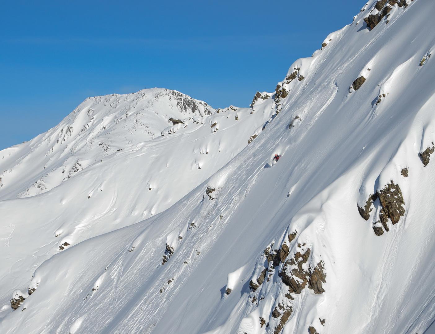 some steep n deep skiing