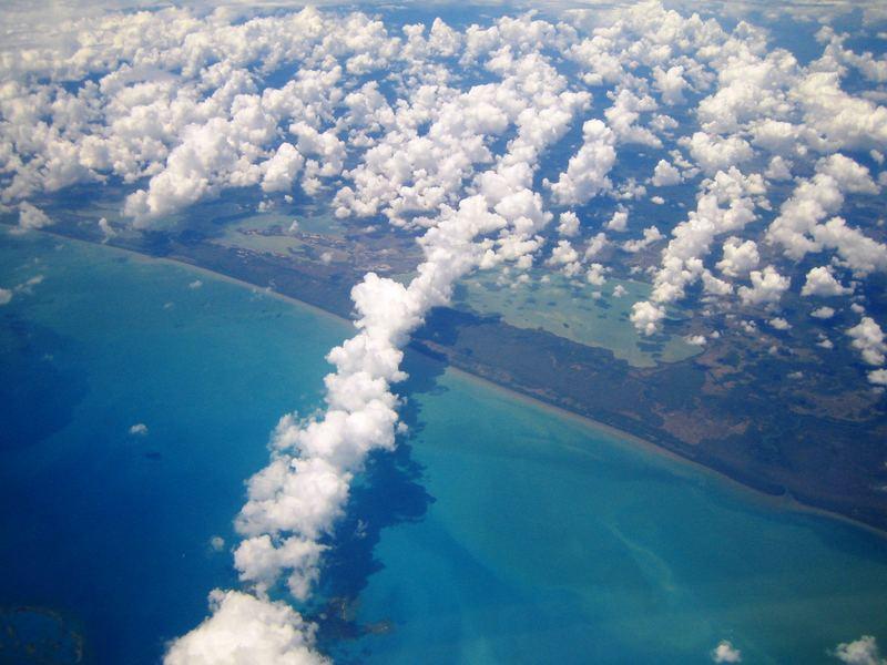 Somewhere over Mexico