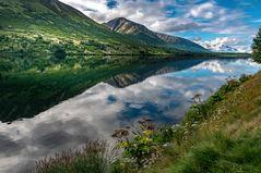 Sommer am Moose Pass in Alaska