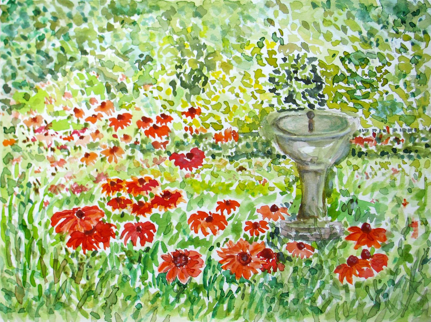Sommer Garten