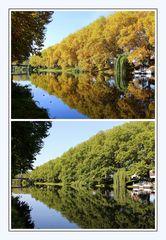 Sommer-Herbst Spiegelung