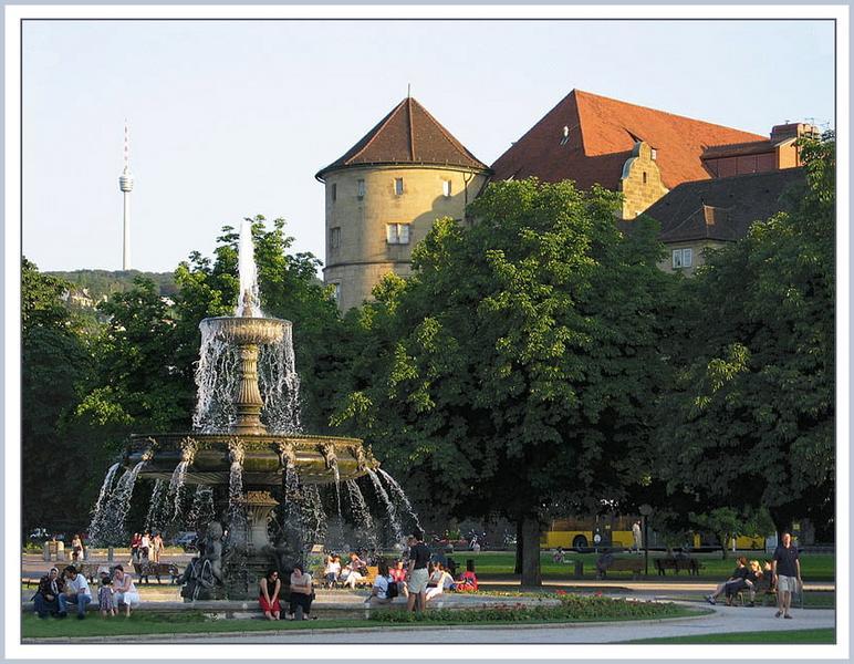 Sommer in Stuttgart...