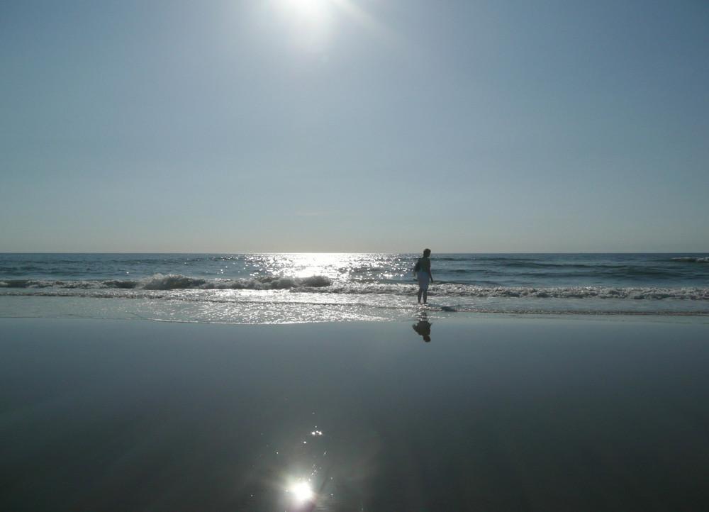 Sommer-See-Sonne
