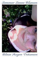 ~Sommer Sonne Blaue Augen~