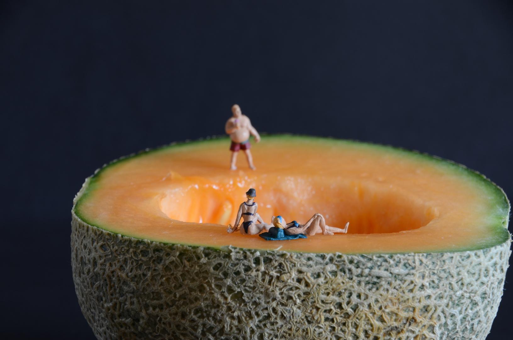 Sommer-Sonne-Melone