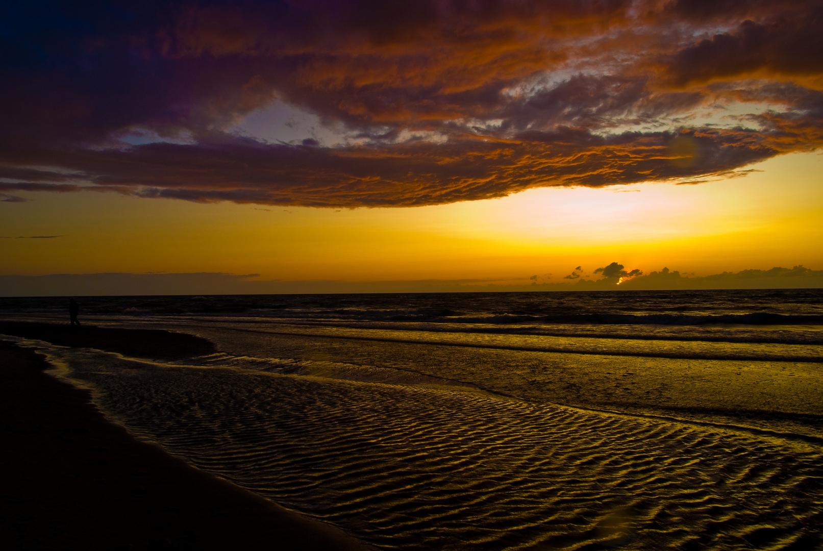 Sommerabend am Meer
