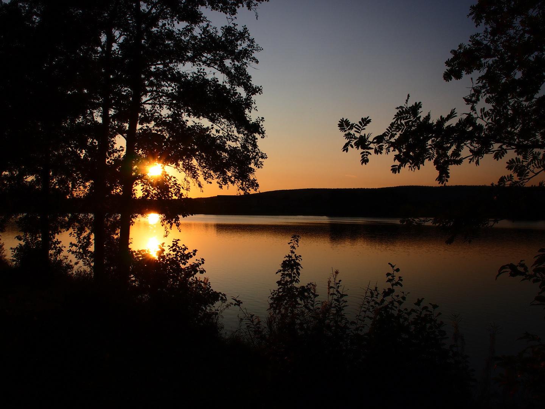 Sommerabend am Weißenstädter See