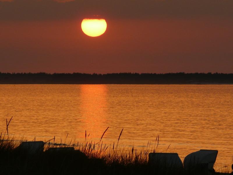 Sommerabend an der Ostsee