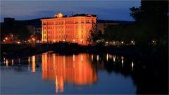 Sommerabend an der Weser