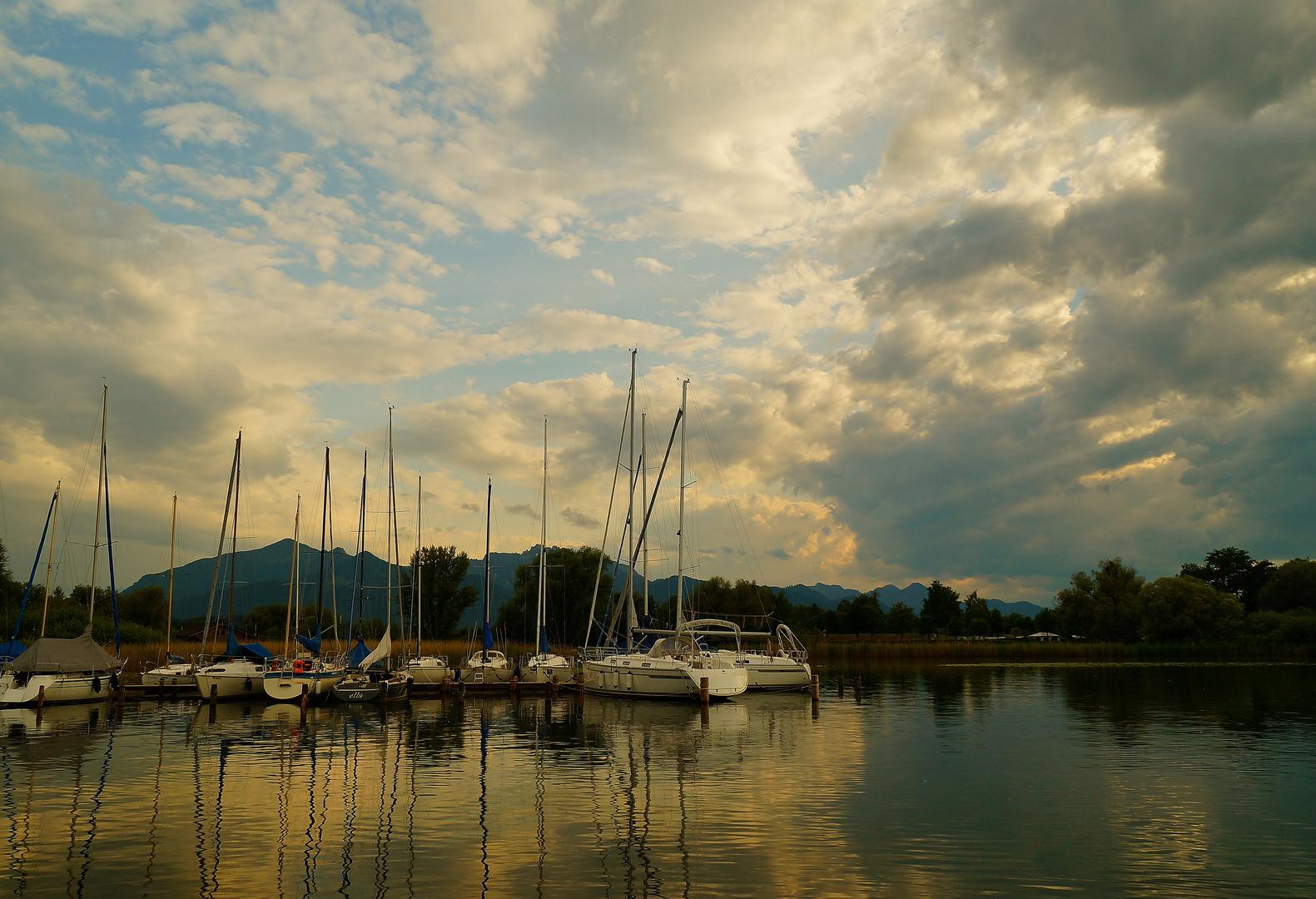 Sommerabend in Feldwieser Bucht