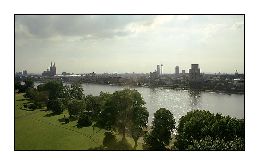 Sommerabend in Köln