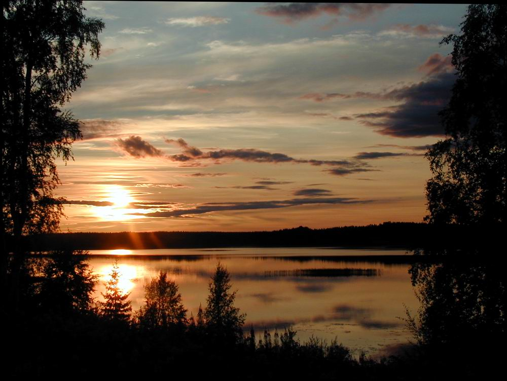 Sommerabend in Schweden - Särna