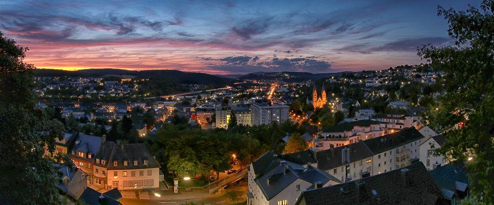 Sommerabend in Siegen