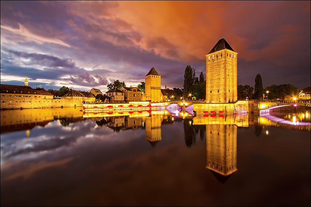 Sommerabend in Straßburg