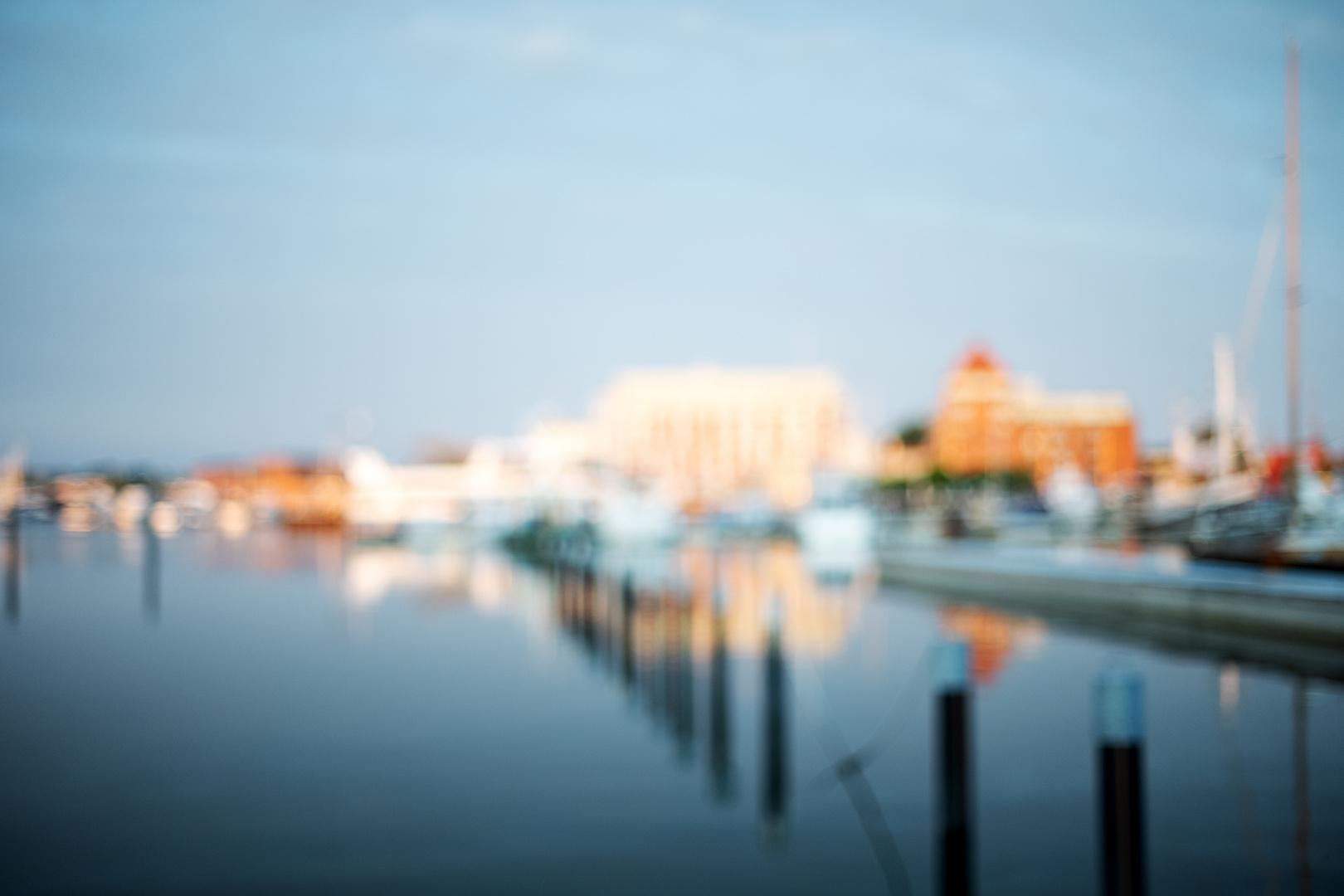 Sommeranfang am Barther Hafen