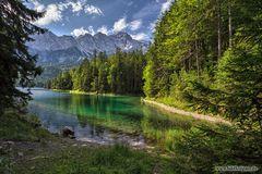 Sommerbesuch am Eibsee