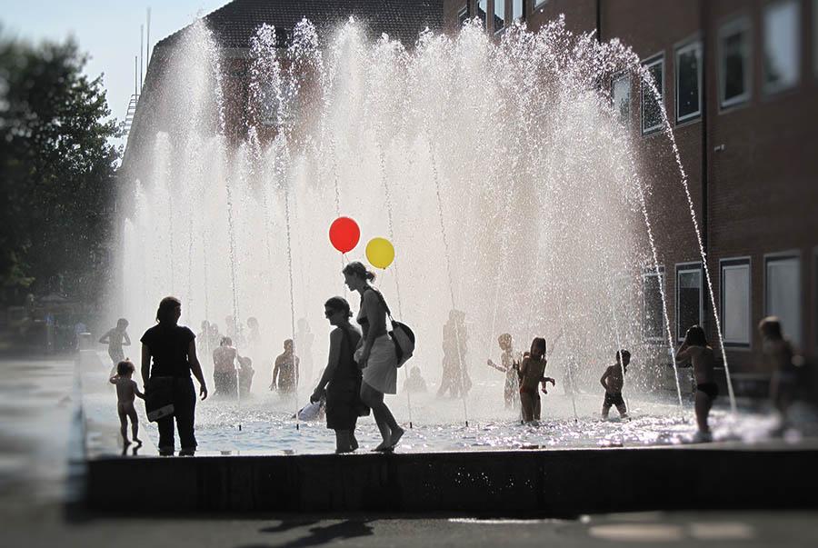 Sommerfreude am Messeplatz Basel