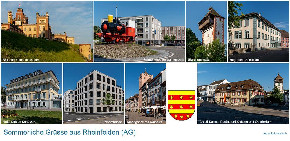 Sommergruss aus Rheinfelden