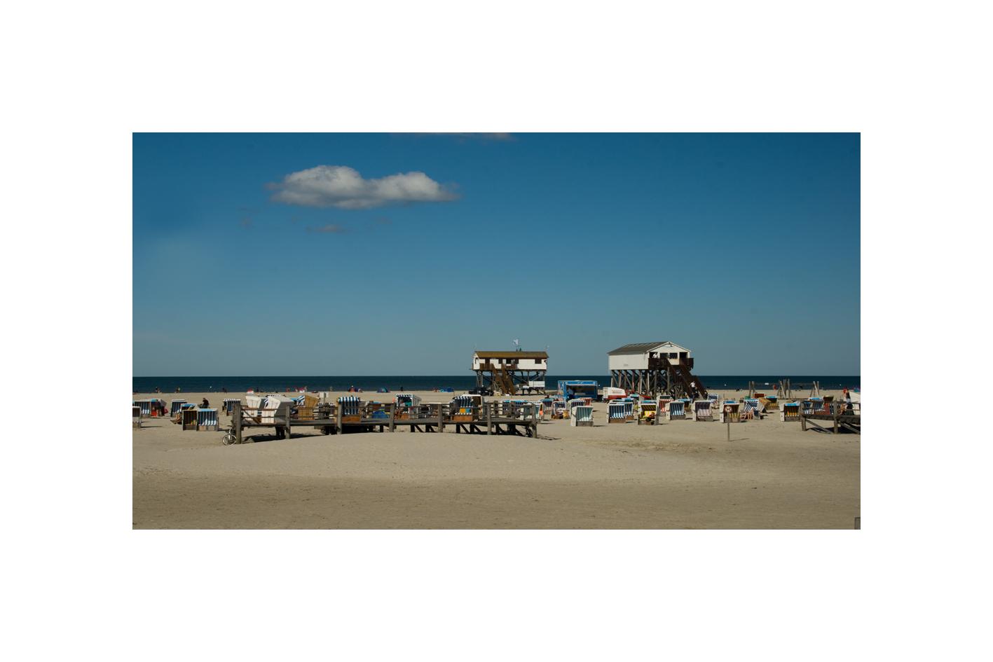 sommerliches Strandleben