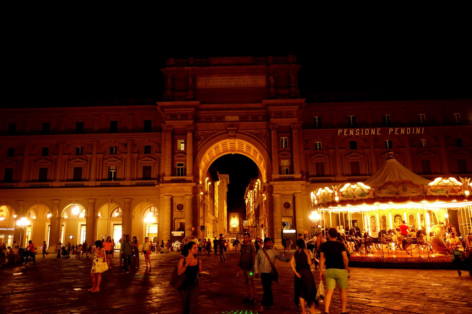 Sommernacht in Florenz