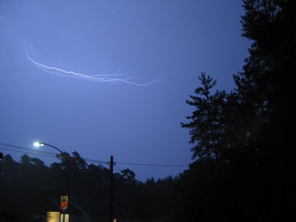 Sommernachtsgewitter