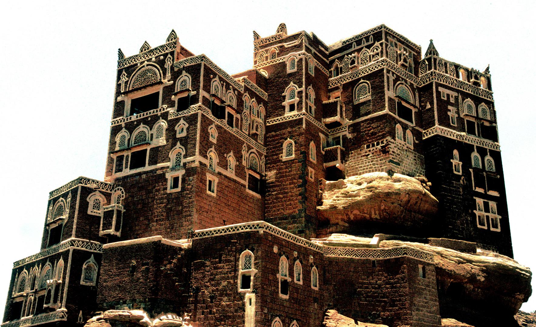 Sommerresidenz des Imam Yachya im Wadi Darr