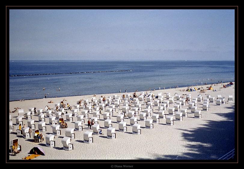 Sommersonne, Strand und Meer