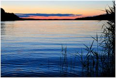 Sommersonnenwende am Plauer See (Mecklenburg)