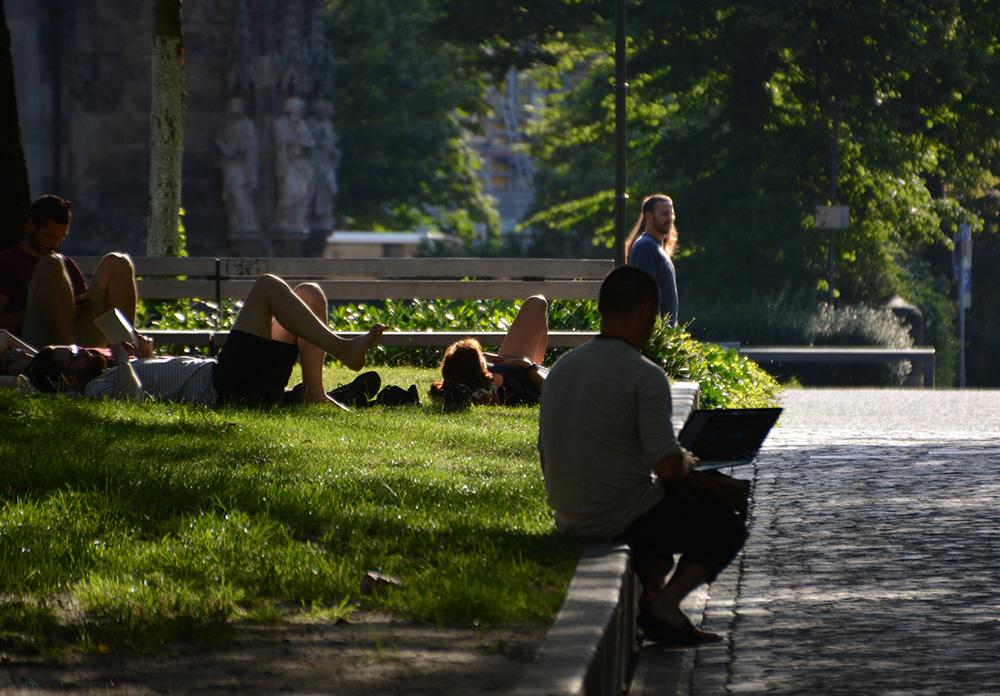 Sommerstimmung in Leipzig