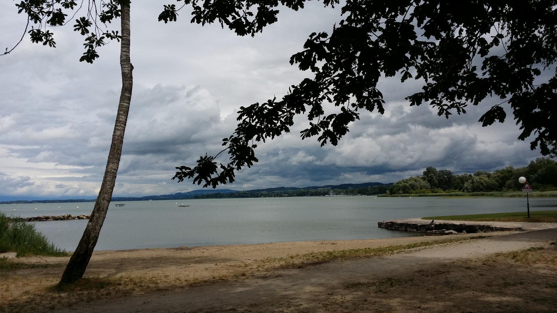 Sommerstimmung kurz vor einem Gewitter