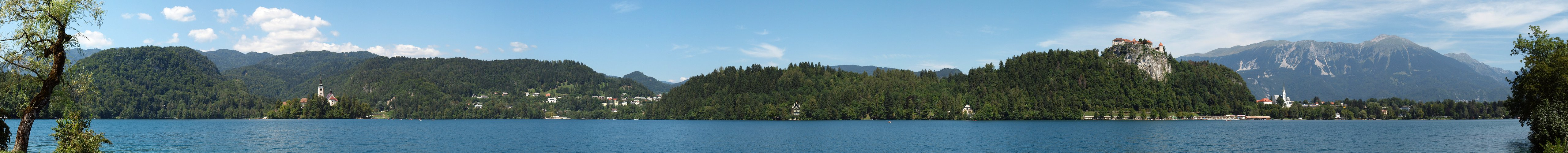 Sommertag in Bled