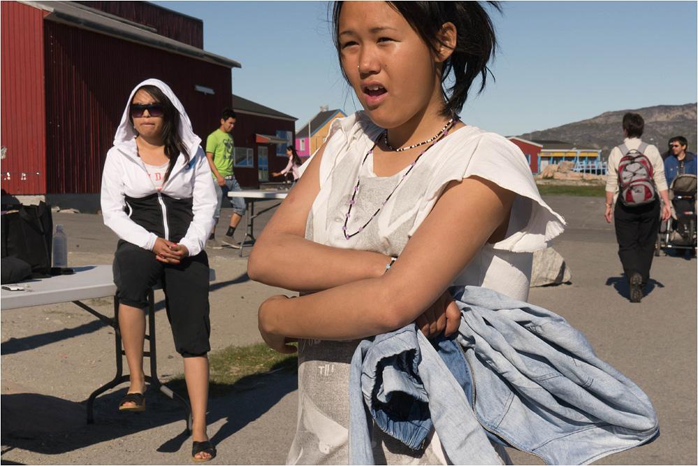 Sommertag in Ilulissat...