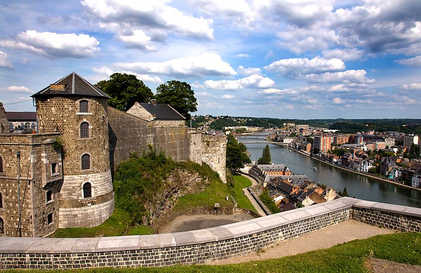 Sommertag über der Meuse