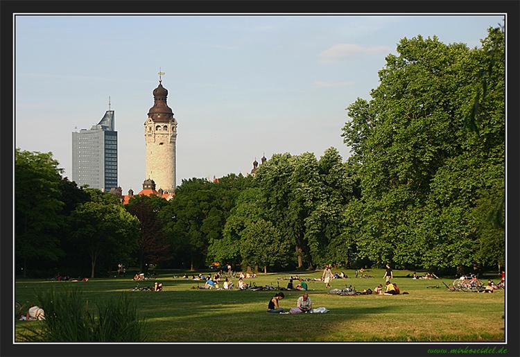 Sommerzeit in Leipzig